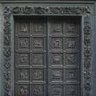 South Door goes back to the Baptistery of Florence -